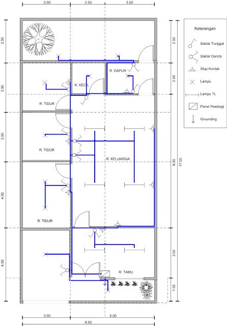 Terbaru 16  Software Gambar Instalasi Listrik Rumah